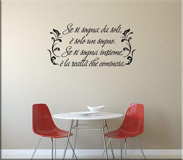 adesivi murali proverbio africano