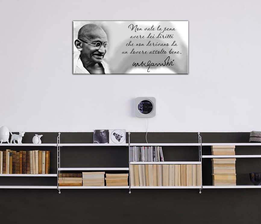 quadro moderno Gandhi 2