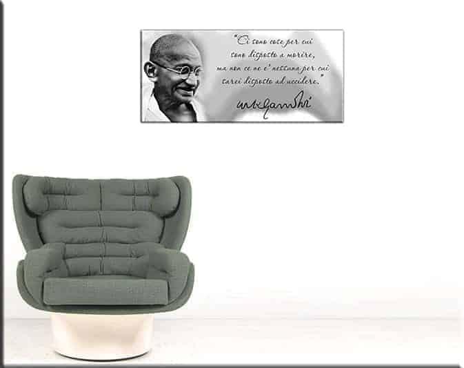quadro moderno Gandhi 3