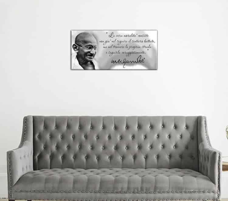 quadro moderno Gandhi