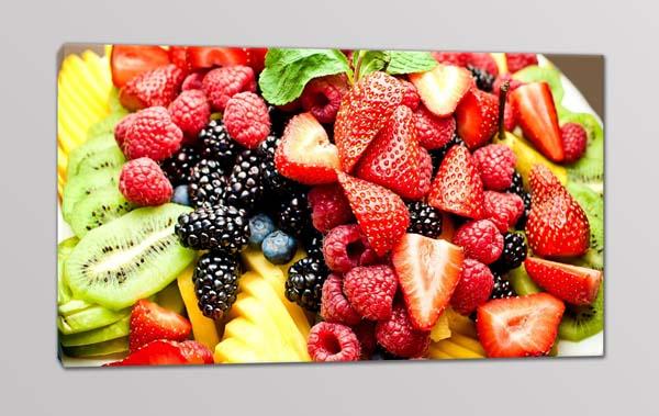 quadro moderno colori frutta