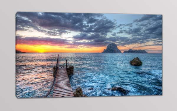quadro moderno paesaggio mare