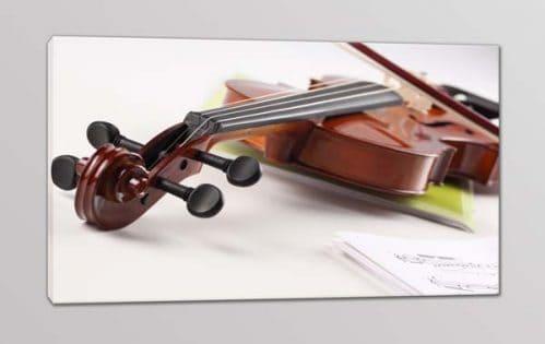 quadro moderno violino musica