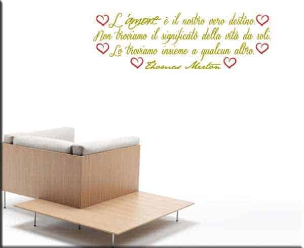 wall stickers frase Thomas Merton