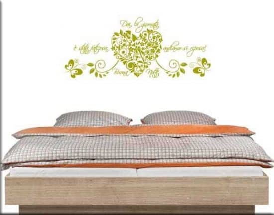 wall stickers frase buona notte