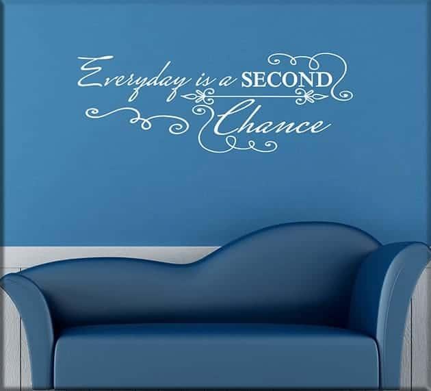 wall stickers frase everyday