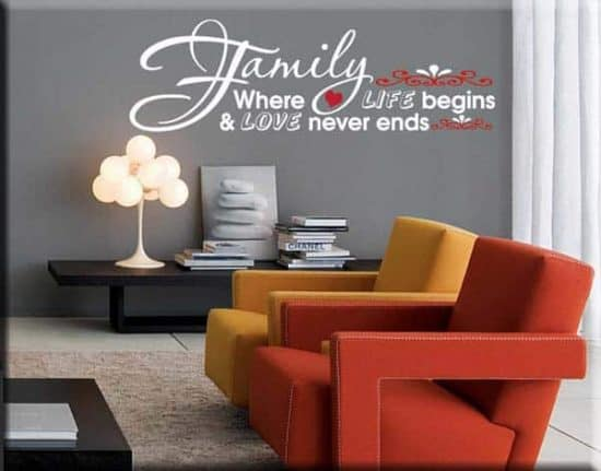 wall stickers frase family