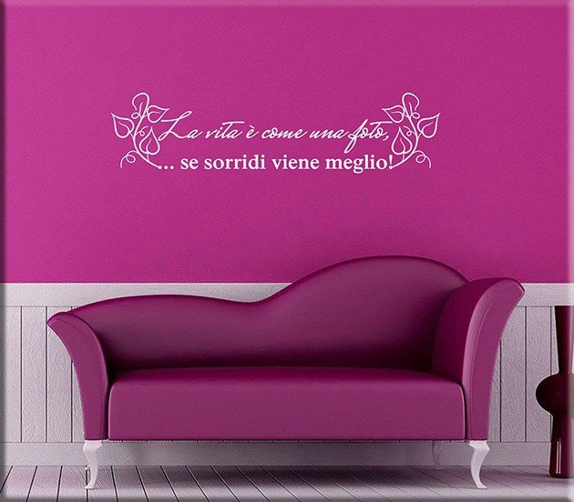 wall stickers frase foto