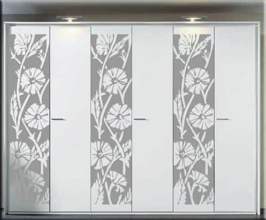 wall stickers pannello floreale