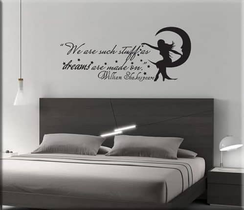 wall stickers phrase WILLIAM SHAKESPEARE