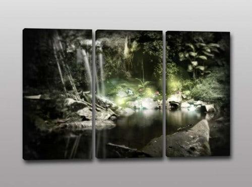 Quadri moderni paesaggio natura relax