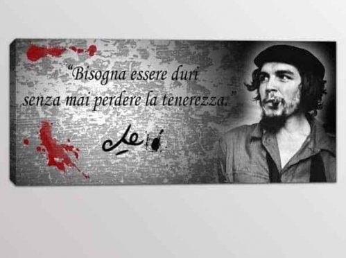 Quadro moderno citazione Che Guevara