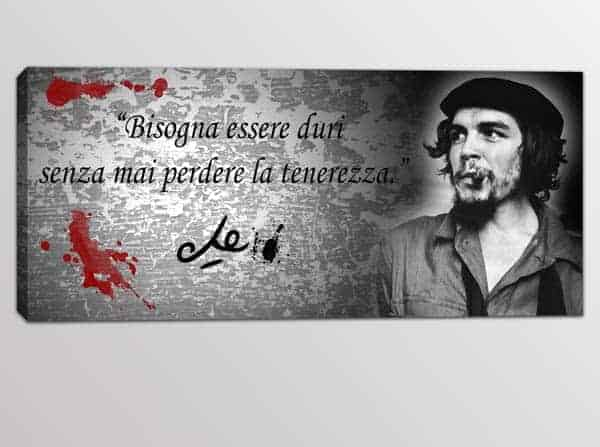 Quadro Moderno Citazione Che Guevara Arredi Murali