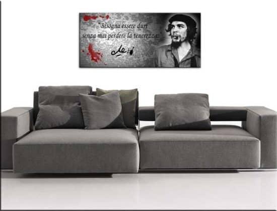 Quadro moderno stampa citazione Che Guevara