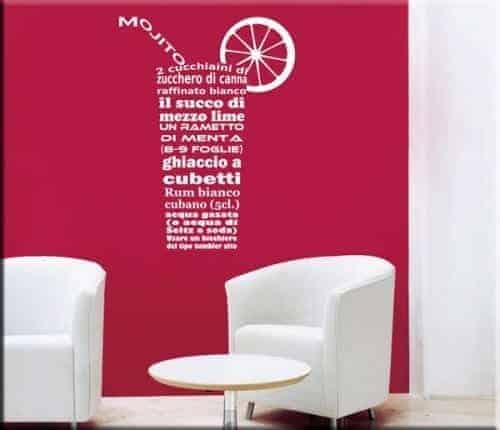 Turbo scritte per bar si59 pineglen for Arredi murali