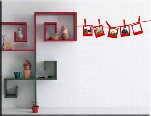 adesivi murali cornici portafoto