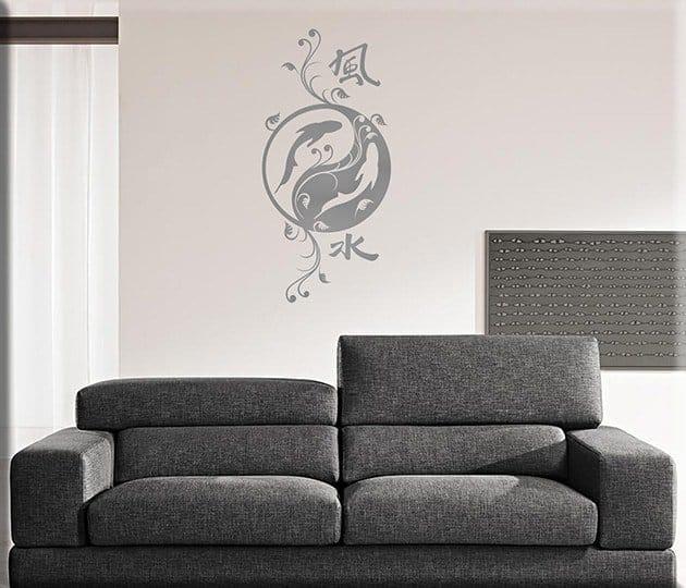 decorazioni adesive murali feng shui