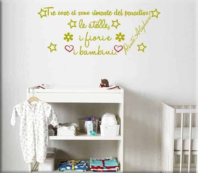 Adesivi Per Pareti Frasi. Download By. . Wall Stickers Adesivi ...