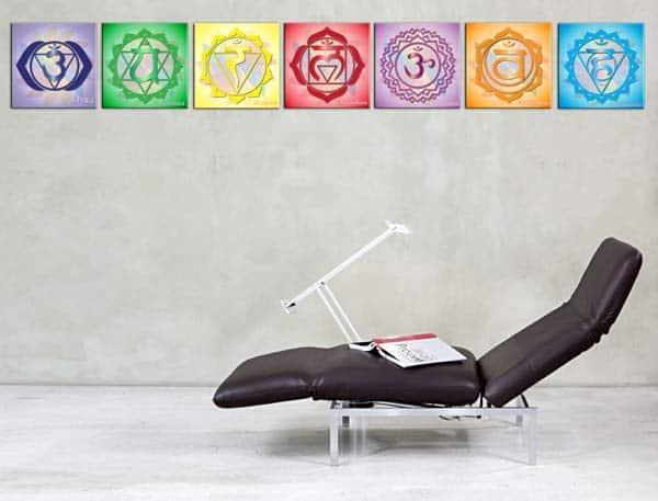 quadri moderni sette chakras