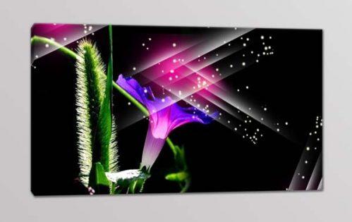 quadro moderno fiore stampa arte