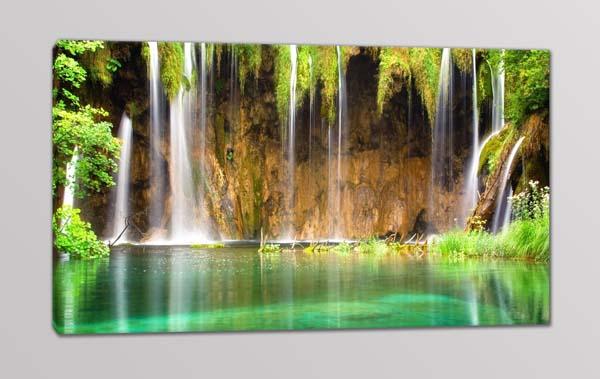quadro moderno paesaggio cascata