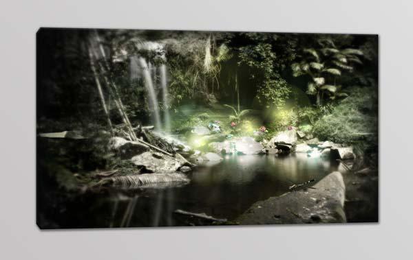 quadro moderno paesaggio natura relax