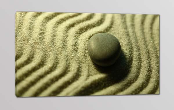 quadro moderno pietra sabbia Zen