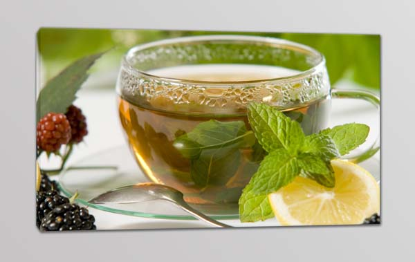 quadro moderno tè tisana bar