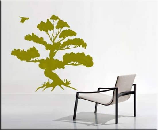 wall stickers albero bonsai