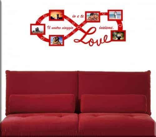 Adesivi murali portafoto bellissime cornici per i tuoi muri - Cornici da parete per foto ...