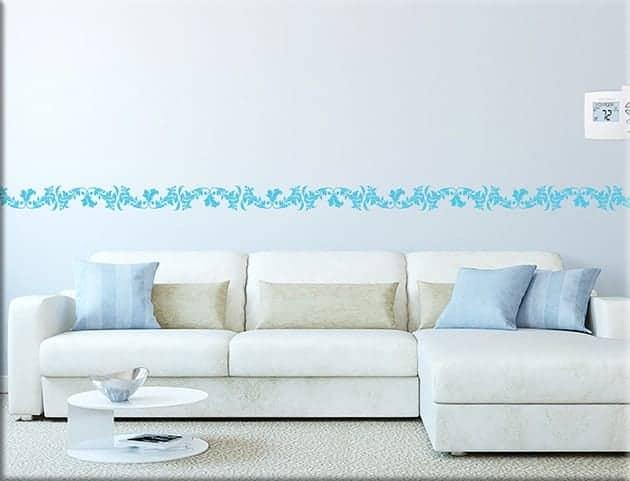 Greche adesive per camere da letto colori per dipingere sulla pelle - Decorazioni murali per camere da letto ...