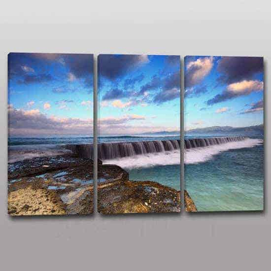 quadri moderni con paesaggio marino stampa su tela