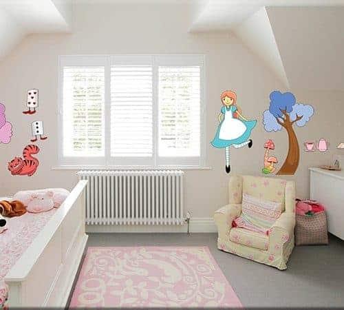 Adesivi murali per arredare le camerette - Adesivi murali per camerette bimbi ...