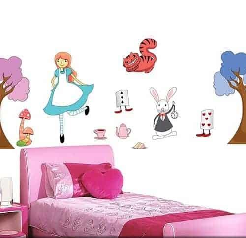 Adesivi da muro per bambini for Adesivi murali x bambini