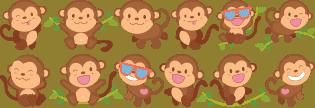 greche scimmiette