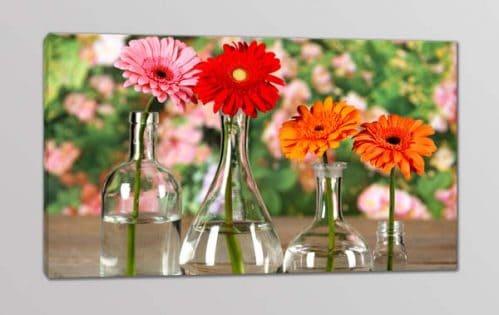 quadro moderno fiori stampa tela