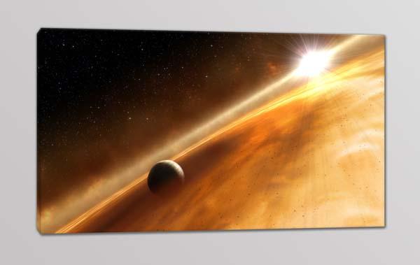 quadro moderno pianeta spazio
