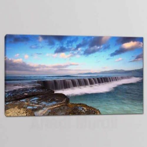 quadro moderno paesaggio mare 1 tela