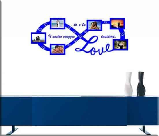 wall stickers cornici foto love