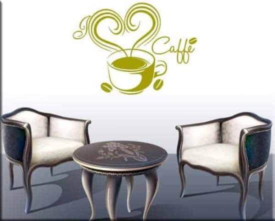 wall stickers love caffè bar