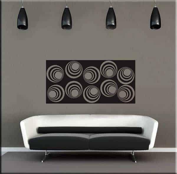 Pannello adesivo murale moderno