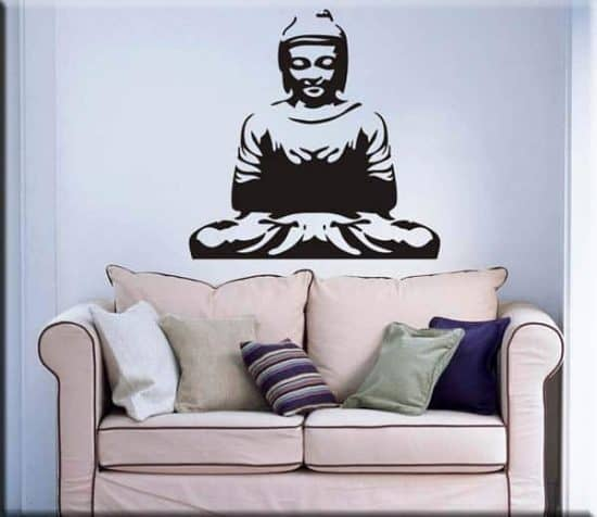 decorazione adesiva murale buddha