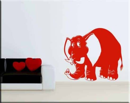 wall sticker elefante bimbi