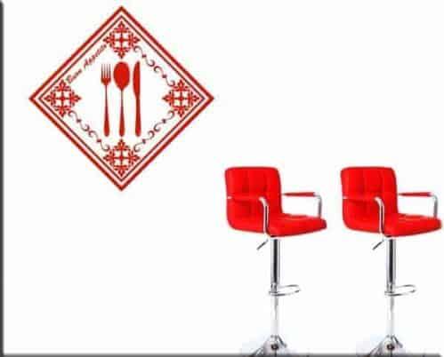 wall stickers cucina buon appetito