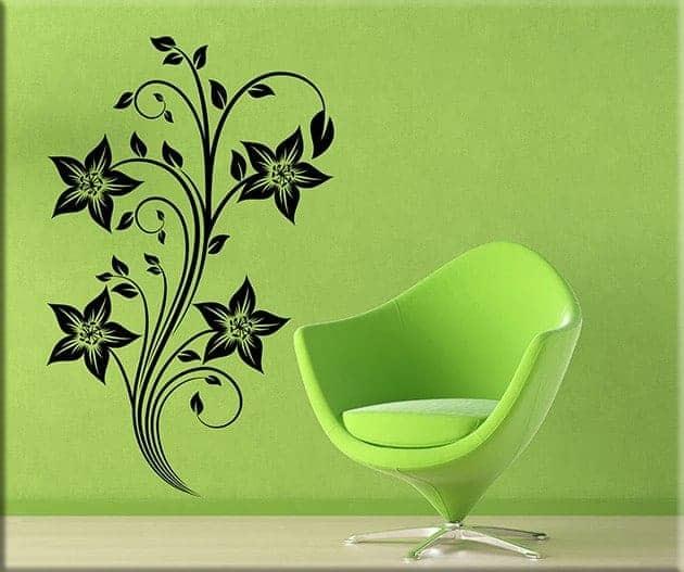 adesivi-da-parete-fiori-stilizzati-arredo