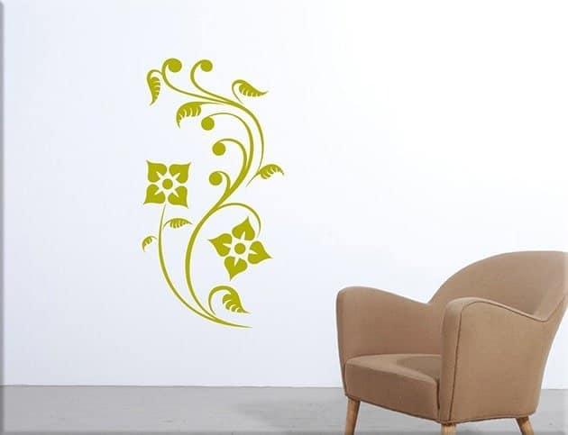 adesivi-da-parete-fiori-stlizzati