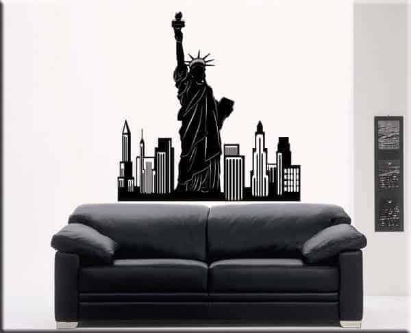 Adesivi murali New York city