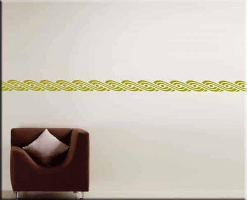 adesivi murali greca moderna arredo