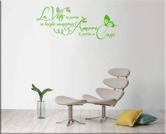 wall stickers frase casa