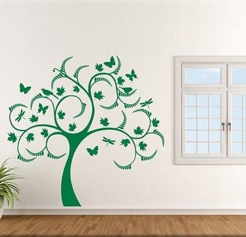 adesivi da parete albero stilizzato arredo